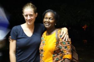 Me and Margaret Lukwiya