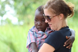 Me and Ambrose- one of the 40 children currently living at Consolation Home in St. Jude.