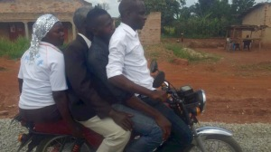 How many people can you fit on a boda boda?